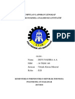 Sampul laporan kimia fisika
