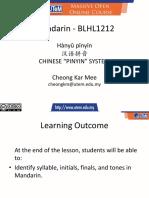 Chinese Phonetics Part 1