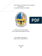 La Victima En El Proceso Penal Boliviano