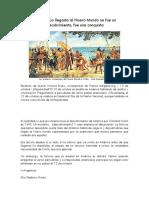 DESCUBRIMIENTO DE AMÉRICA DESDE LA PERSPECTIVA INDÍGENA