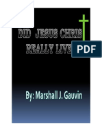 Did Jesus Christ Really Live