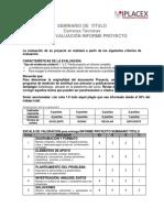 PAUTA EVALUACIÓN  PROYECTO Iplacex