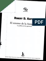 Kaplan, Robert D. - El retorno de la antiguedad.pdf