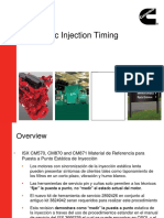 ISX Static Injection Timing