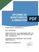 Informe de Iluminacion Rev.00