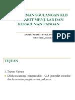 PE KEJADIAN LUAR BIASA (KLB) KERMAK 2019