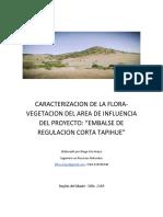 caracterizacion de flora tapihue