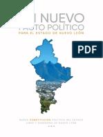 Un Nuevo Pacto Político para el Estado de Nuevo León