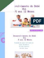 Desenvolvimento do bebé dos 6 aos 12 meses