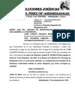 DEPOSITO REPARACION CIVIL-JUAN CARLOS OCHOA