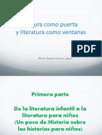Lectura como puerta y literatura como ventanas.ppt