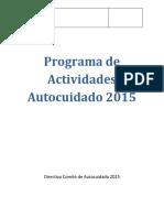 PROGRAMA AUTOCUIDADO  CC