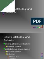 Social--05.0 Attitudes and Behavior