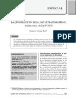 LA QUIMERA DE UN DESALOJO ULTRASUMARÍSIMO. Análisis a la Ley N° 30933, Ley Peruana de Desalojo con Intervención Notarial. Autor Edmundo Trujillo Blas
