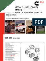 1 - Inyector ISX & Procedimientos Eje de Balancines