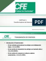 CAPITULO 1 TRANSFORMADOR DE POTENCIA