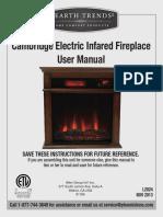 HearthTrends Fireplace EL1239-UserManual-Eng