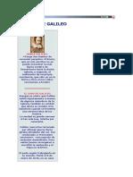 EL CASO DE GALILEO