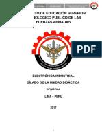 SILABO DE OFIMATICA ELECTRONICA INDUSTRIAL