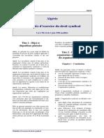 Algerie-Loi-1990-14-droit-syndical