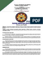 RA 7459 FILIPINO INVENTORS SOCIETY