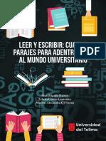Libro Leer y escribir en la universidad