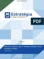 Matemática e Raciocínio Lógico p_ ISS-Manaus (Assistente Técnico Fazendário) - Pós-Edital
