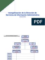 organizacion DSIA