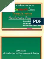 Electromagnetic Pulse Energy Technology