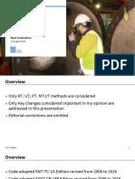 2019 Key Changes Section V