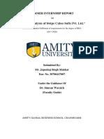 SWOT ANALYSIS OF SWIPE CUBES SOFTS PVT. LTD.  - JAPSAHAJ SINGH MAKKAR.docx