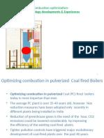 Combustion optimization-Technology developments  Experiences