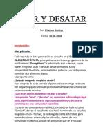BENITEZ, Dairhon - ATAR Y DESATAR