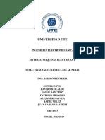Informe Manufactura