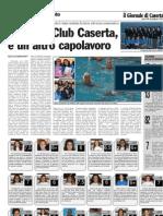 SPORTING CLUB CASERTA, E' UN ALTRO CAPOLAVORO