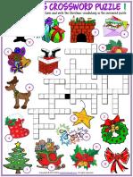 christmas vocabulary esl crossword puzzle worksheets for kids.pdf
