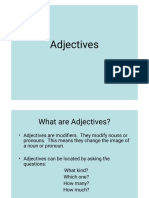 Adjectives 1