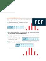 Matematicas Resueltos (Soluciones) Distribuciones de Probabilidad 1º Bachillerato