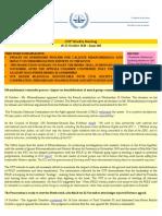 OTP Weekly Briefing - 19-25 October 2010 - Issue #60
