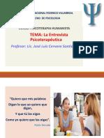 LA ENTREVISTA PSICOTERAPIA.ppt