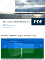 Introduction to Wind and Vestas Wind Turbines