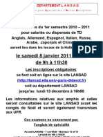 Affiche Examens S1_LANSAD