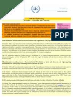 OTP Weekly Briefing - 26 October - 1st November 2010 - Issue #61
