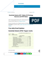 Kanishak Kataria AIR 1 Mains GS Strategy, Sources and PDF Notes222128