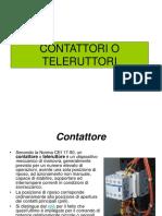 CONTATTORI O TELERUTTORI-convertito