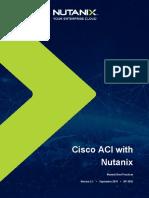 Cisco ACI with Nutanix