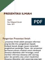 PPT PRESENTASI ILMIAH