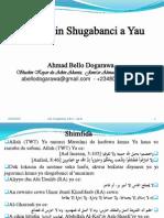 Shugabanci a Yau