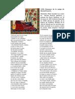 1490 romance de la amiga de bernal frances
