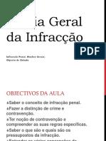 Teoria geral da infracção 2014